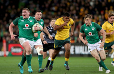 Schmidt hails 'super line-breaks' and breakdown work as Ireland bite back against Australia