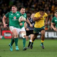 Schmidt hails 'super line-breaks' and breakdown work as Ireland bite back against Australia