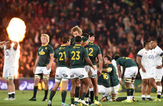 Erasmus' Springboks come from behind again to seal series win over England