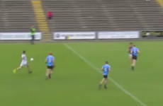 Wexford 'keeper Ivan Meegan landed this magical point from play against Dublin