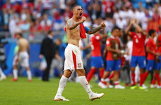 Stunning Kolarov free-kick seals all three points as Serbia get off to winning start