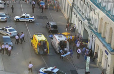 Taxi driver who drove into pedestrians in Moscow says he fell asleep at the wheel