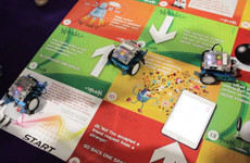 These schoolkid entrepreneurs have created an internet safety board game (with added robots)
