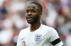 Sterling gets the nod as England name starting XI to face Tunisia