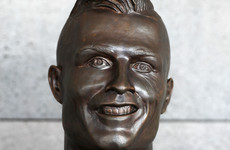 Controversial Ronaldo bust swapped at Madeira airport
