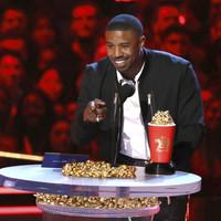 Black Panther's Michael B. Jordan got a dig in at Roseanne Barr following racist tweet