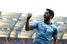 Suarez leads Uruguay to the knockout stages as Saudi Arabia exit World Cup