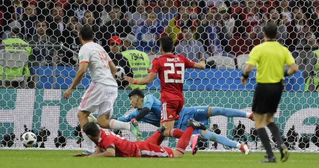 Diego Costa shins Spain to nervy win - but dogged Iran are not out of Group B yet