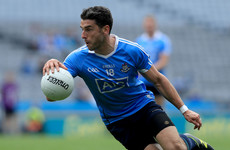 Dublin forward Brogan back in training four months after tearing his cruciate