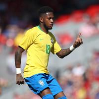 Brazilian midfielder completes �53 million Man United move
