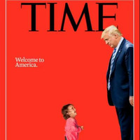 TIME hits out at Trump's border separation policy with cover photo