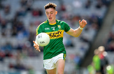 Two changes to O'Connor's Kerry U20 side for Munster semi-final against Waterford