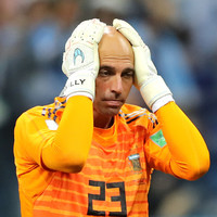 Willy Caballero gifts Croatia their opening goal with an all-time absolute howler