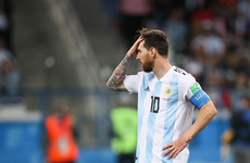Argentina on the brink of premature World Cup exit as Croatia cruise to incredible victory