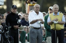 Legends get us going at Masters as Harrington makes bright start
