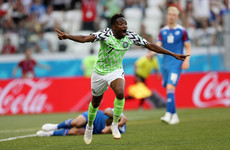 Sublime! Ahmed Musa's outrageous half-volley is one of the goals of the World Cup