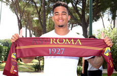 Patrick Kluivert's son Justin signs for Roma on long-term deal