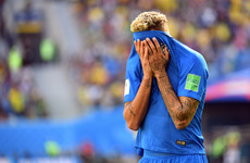 Neymar's tears worry nervous Brazilians