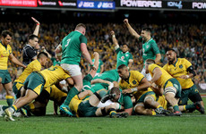 Schmidt's Ireland cling on to secure thrilling series success in Australia