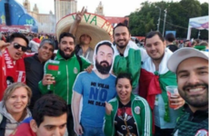 The Mexican fans at the World Cup who took a cardboard cutout friend to Russia