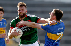 Mayo lose Seamus O'Shea to injury but survive stern Tipperary test and power to qualifier victory