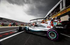 Hamilton takes pole at rain-hit, crash-marred French Grand Prix