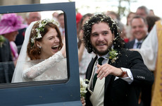 Here's what everyone wore to Game Of Thrones' Kit Harrington and Rose Leslie's wedding