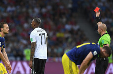 'He's been a disgrace, get him off': Keane and Neville slam Boateng