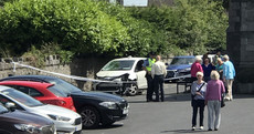 At least four injured as pedestrians hit by car outside west Dublin church