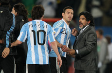 Maradona says Messi 'not guilty of anything' as Argentina face potential World Cup exit