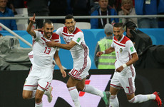 Spain stumble over the line as they claim last-gasp draw with Morocco