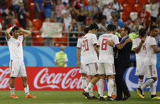 'Because Iran had suffered a couple of injustices, they said to give the penalty'