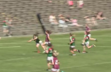 There was an unbelievable goal-saving block at MacHale Park over the weekend