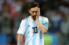 Messi stressed and unhappy at World Cup, says former team-mate