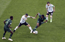 As it happened: Nigeria v Argentina, World Cup