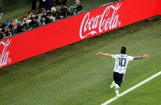 GOL! Messi opens World Cup account with stunning finish to get Argentina up and running