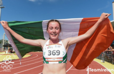 Another record broken by Irish wonderkid Healy as she tops the European charts