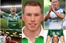 Munster glory, Ireland triumphs and time in England - Peter Stringer's rugby career in pics