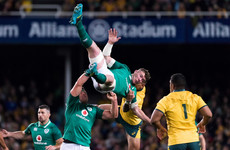 Folau handed one-match ban for aerial challenge on Ireland captain O'Mahony