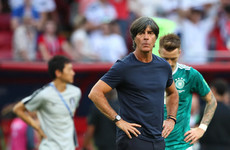 Loew considers quitting after Germany's shock World Cup exit