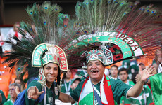 Embassy-storming, Korean-cradling Mexico fans are winning this World Cup