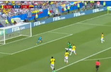 VAR rescues Colombia as ref chalks off penalty for inch-perfect, last-man tackle by Sanchez
