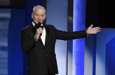 Bill Murray ended up serenading George Clooney in the middle of his tribute to him at the Life Achievement Awards