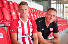 It's a family affair! Kenny Shiels' son joins him at Derry City