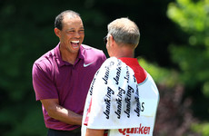 Tiger will start the weekend four shots off the lead at the Quicken Loans