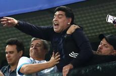 FIFA backs 'football great' Maradona but urges World Cup star to be respectful