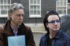 Bob Geldof has admitted that he used to think U2 were absolutely godawful