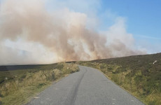 Gardaí advise extreme caution in the Wicklow mountains as forest fire warning extended
