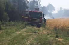 Meath firefighters battle fresh wildfire flare up outside village of Kildalkey