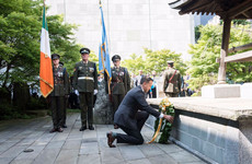 Leo pays tribute to the 88 Irish peacekeepers who never made it home